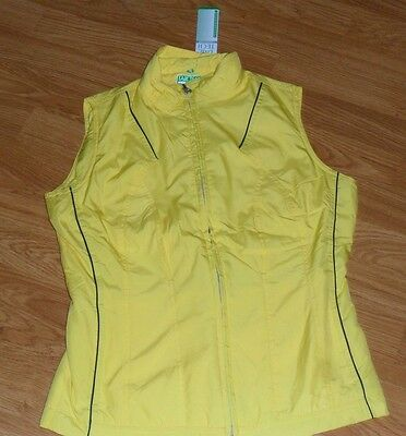Ladies Tail Tech Performance Vest Size Xs  Insulated Yellow Nwt