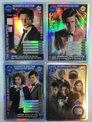 Doctor Who Trading Cards Monster Invasion ULTRA RARE ID No 180 346 360 476