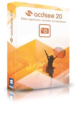 ACDSee 20 Key Code ESD / Download EN Fotomanager ACD Systems EAN 4025461