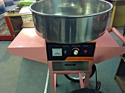 Commercial Cotton Candy Floss machine on wheels