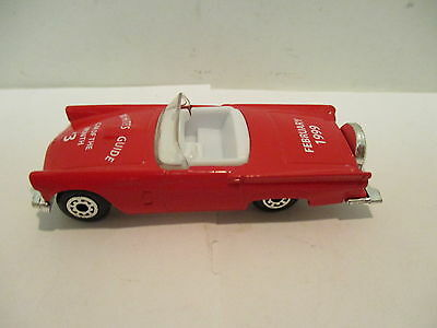MatchBox White's Guide #3 Car of the Month 1957 Thunderbird  Vintage Classic