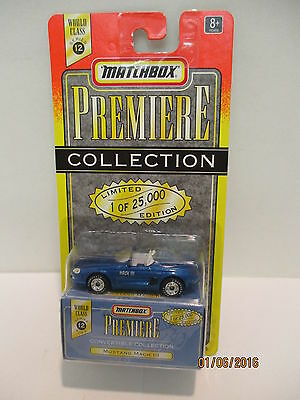 Matchbox Premier Collection Mustang Mach III Limited Edition #34315   Classic