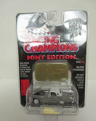 Racing Champions Mint Grey 1956 Thunderbird Diecast Vehickle with Display Stand