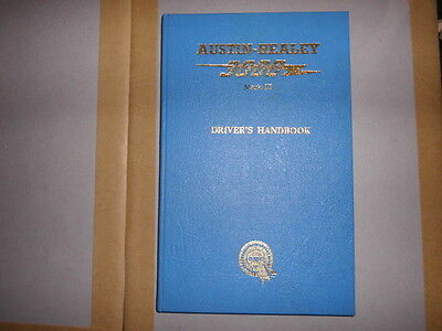 Austin Healey 3000 Mk3  Drivers Handbook Gen Bmc New Old Stock