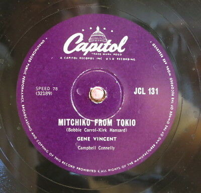 Gene Vincent / Pistol Packin` Mama & Mitchiko From Tokio