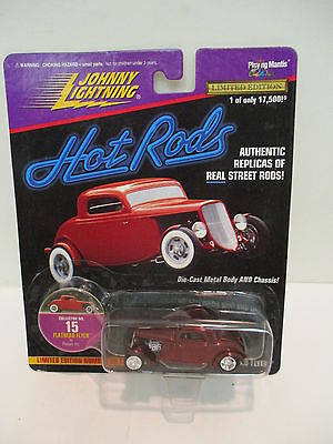 Johnny Lightning Hot Rods #15 Flathead Flyer by Posies Inc. Classic  Collectable