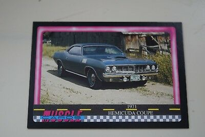 Muscle Cards Series 1 King Of The Hill #78 1971 Plymouth Hemi Cuda Coupe