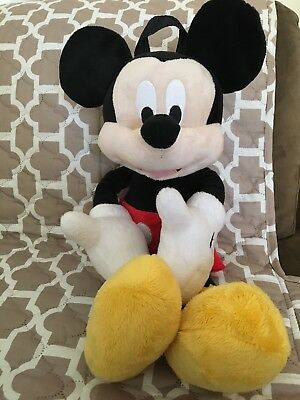 """Mickey Mouse 22"""" Plush Toy Backpack"""
