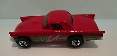 Hot Wheels Small  Car with Racing Stripes T-Bird   Original Old Classic  06