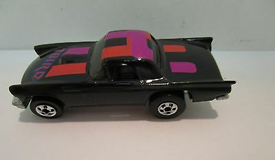Hot Wheels Small Diecast Black with Racing Stripes T-Bird  Vintage Collectbl  05