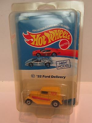 Hot Wheels '32 Ford Delivery Car with Red Stripe  Vintage  Collectable Wheels