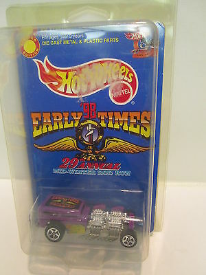 Hot Wheels Early Times '98 29th Annual Mid-Winter Rod Run  Intriging Collectable