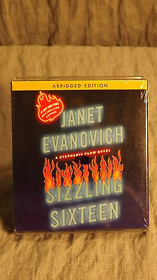[3-13 Bin] Sizzling Sixteen 16 by Janet Evanovich (2010, CD, Audiobook) SEALED