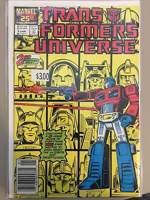 Transformers Universe Comic #2, Marvel Comics