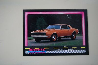 Muscle Cards Series 1 King Of The Hill #17 1968 Camaro 427 Dana