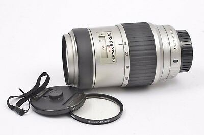 EXC++ SMC PENTAX-FA 80-320mm 4.5-5.6 ZOOM LENS w/CAPS, KEEPER +UV, CLEAN, TESTED