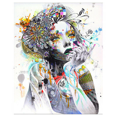 Abstract Canvas Painting For Modern Living Room Wall Decor - Art Girl Q2L9