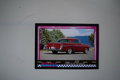 Muscle Cards Series 1 King Of The Hill #87 1956 Chrysler 300 Hemi
