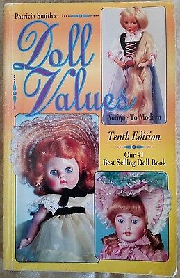 Patricia Smith's DOLL VALUES Antique to Modern TENTH EDITION, Price Guide 10th