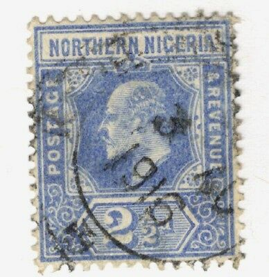 1914 Northern Nigeria SC #31  KGV used stamp