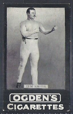 Ogdens Tabs-Series B Boxing Card-#b077- Jem Smith