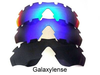 64e9a406d51 Galaxy Replacement Lenses For Oakley M2 Frame Vented Sunglasses Black  Blue Green