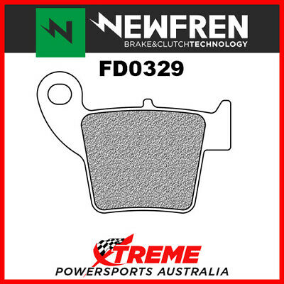 Newfren Honda CRF250R 2004-2018 Sintered Rear Brake Pads FD0329SD