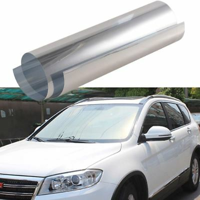 0.5m*3m Silver Car Side Window Foils Solar Protection Tinting Film Sun Shade