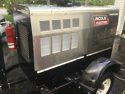Lincoln electric Vantage 502 SD welding  Super diesel with low 2000 hours  2016
