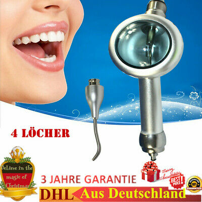 Dentale Air Flow Denti Lucidatore Manipolo Hygiene Prophy Jet 4 FORO DHL NEW