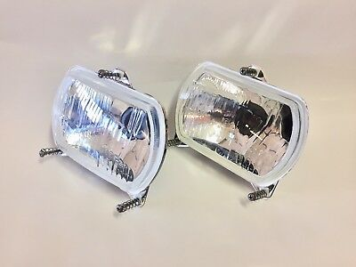 1015209 Pair Lights front 2 lights recessed for tractors various