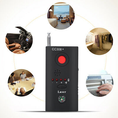 CC308 Multi Bug Detector Full Range Camera Signal RF Hidden Camera GSM Laser