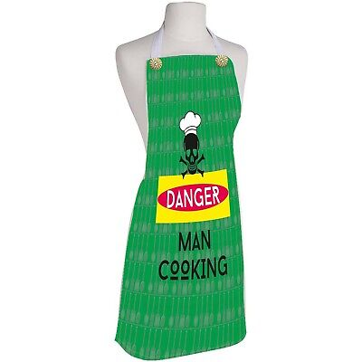 Danger Man Cooking Kitchen Apron New Craft With Protection And Comfort Kitchen