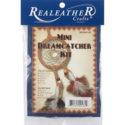 "Make Your Own DreamCatcher Kit - Mini Indian Lore x 3"" Diameter"