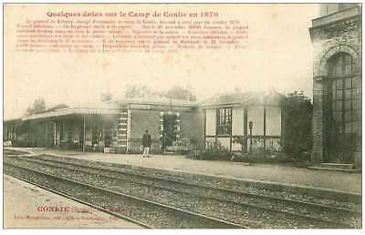 72.conlie.n°15202.quelques Dates Sur Le Camp De Conlie En 1870