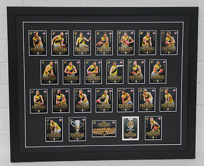 Richmond Tigers 2017 Premeirship Cards Framed.
