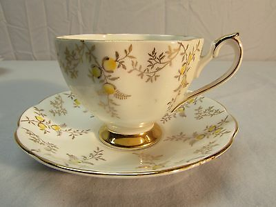 Vintage English Bone China Tea or Coffee Cup and Saucer -- Make An Offer
