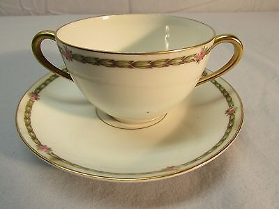 Vintage French Bone China Tea or Coffee Cup and Saucer -- Make An Offer