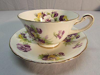 Vintage English Bone China Tea or Coffee Cup and Saucer - Make An Offer