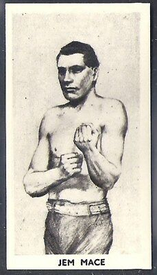 Cartledge-Famous Prize Fighters Boxing (Matt White Print)-#16- Jem Mace