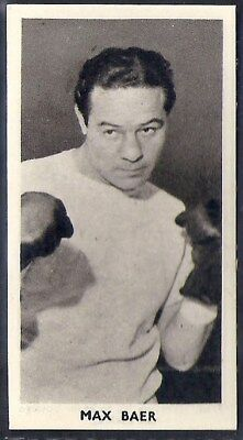 Cartledge-Famous Prize Fighters Boxing (Matt White Print)-#46- Max Baer