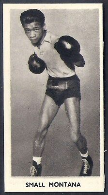 Cartledge-Famous Prize Fighters Boxing (Matt White Print)-#47- Small Montana