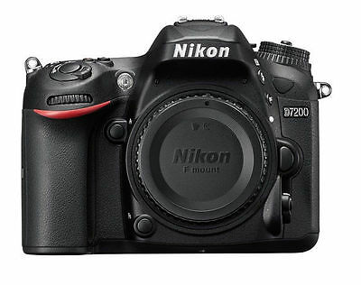 Brand New Nikon D D7200 24.2MP Digital SLR Camera Body + 1 Yr Warranty