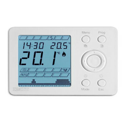 THERMADOR Thermostat ambiance programmable IMIT digital radio IP20-PILES