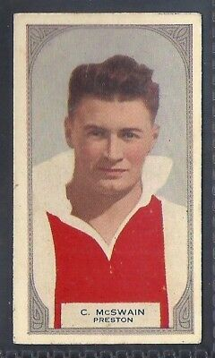 HOADLEYS-VICTORIAN FOOTBALL ERS (51-100)-AUSSIE RULES-#066- PRESTON - McSWAIN