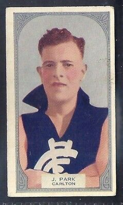 Hoadleys-Victorian Football Ers (51-100)-Aussie Rules-#072- Carlton - Park