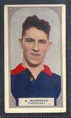 Hoadleys-Victorian Football Ers (51-100)-Aussie Rules-#076- Footscray - Morrison
