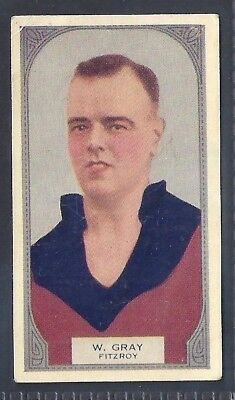 Hoadleys-Victorian Football Ers (51-100)-Aussie Rules-#081- Fitzroy - Gray