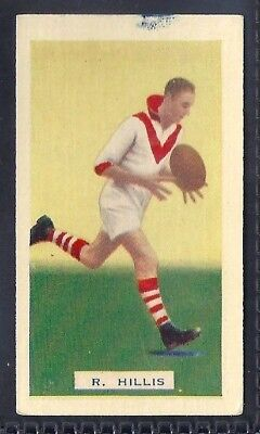 Hoadleys-Victorian Football Ers (Action)-Aussie Rules-#019- South Melbourne