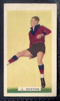Hoadleys-Victorian Football Ers (Action)-Aussie Rules-#020- Fitzroy - Sexton